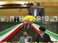 احمدینژاد در مراسم تحلیف