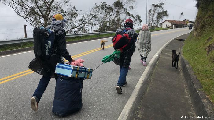 Kolumbien Der Berliner Pass: der Berg des Todes für venezuelanische Migranten (Patrícia de Puyana)