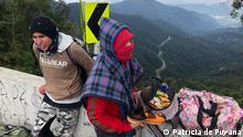 Kolumbien Der Berliner Pass: der Berg des Todes für venezuelanische Migranten