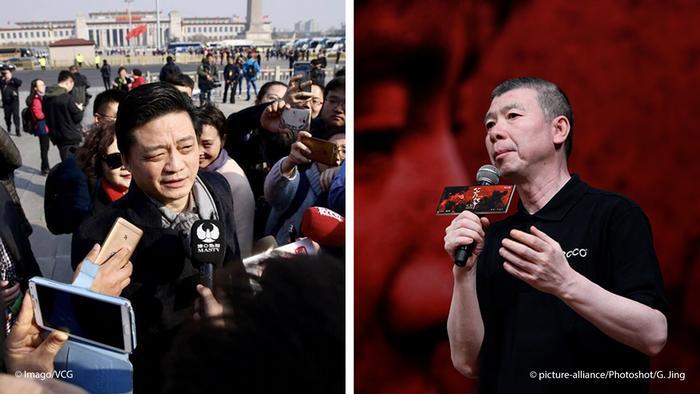 China Bildkombo Cui Yongyuan & Feng Xiaogang