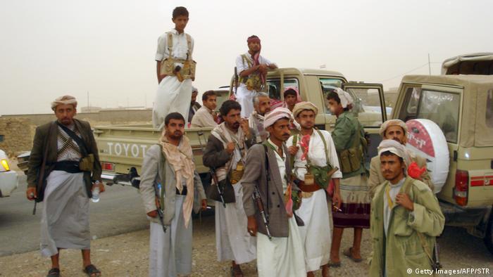 Jemen | Huthi Rebellen (Getty Images/AFP/STR)