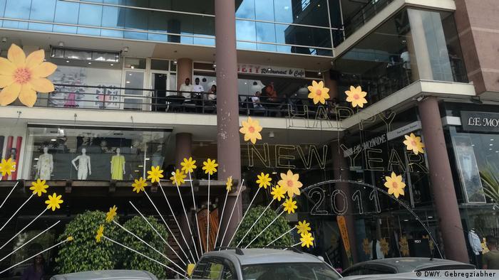 Äthiopien   Vorbereitungen für die Neujahresfeier (DW/Y. Gebregziabher)
