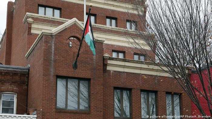 USA | Palestinahaus der PLO in Washington