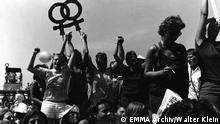 Lesbendemo am 10.06.1982 in Bonn