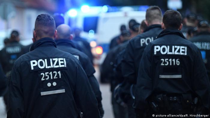 Police in Köthen