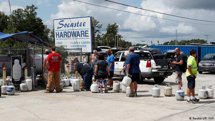 USA South Carolina vor dem Hurrikan Florence