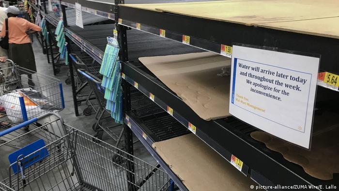 USA North Carolina vor dem Hurrikan Florence