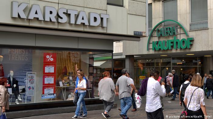 Kaufhof and Karstadt