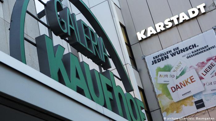 Kaufhof und Karstadt (picture-alliance/U. Baumgarten)