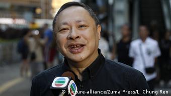 Hongkong Proteste für Demokratie | Benny Tai, Rechtswissenschaftler & Aktivist (picture-alliance/Zuma Press/L. Chung Ren)