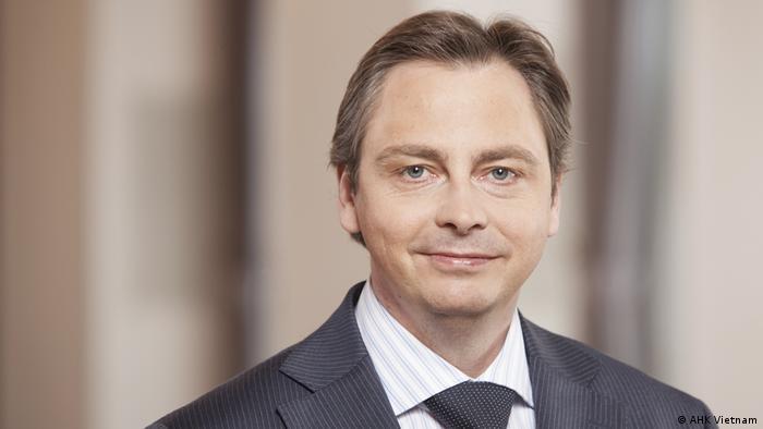 Marko Walde, managing director of the German Chamber of Commerce in Vietnam