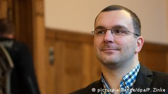 Sebastian Schmidtke of the extreme-right NPD party