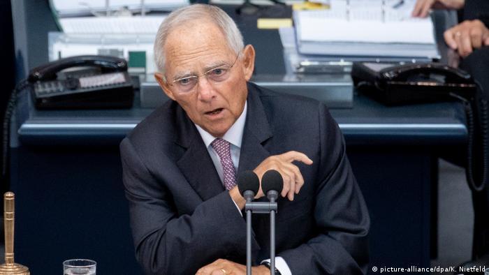 ولفگانگ شویبله، رئیس پارلمان آلمان