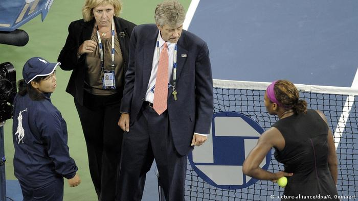 US Open 2009 | Serena Williams, USA (picture-alliance/dpa/A. Gombert)
