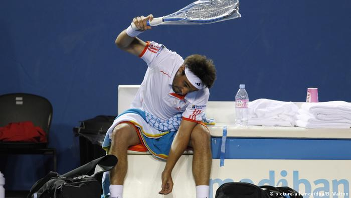 Tennis Australian Open 2012 |  Marcos Baghdatis, Zypern (Foto-Allianz / dpa / B. Walton)