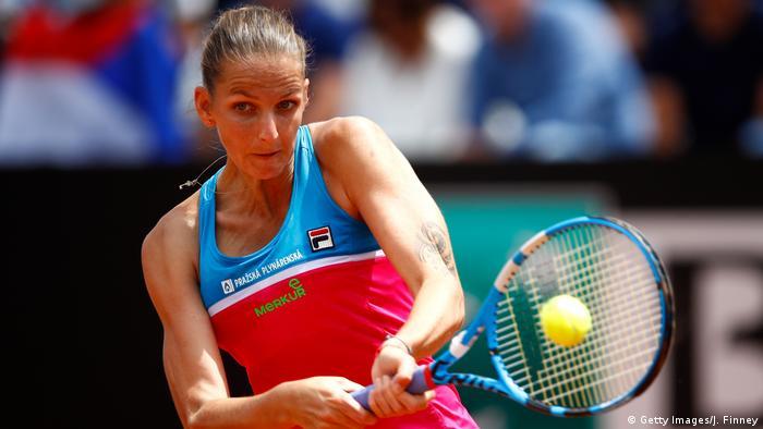 Die Internazionali BNL d'Italia 2018 |  Karolina Pliskova, Tschechien (Getty Images / J. Finney)