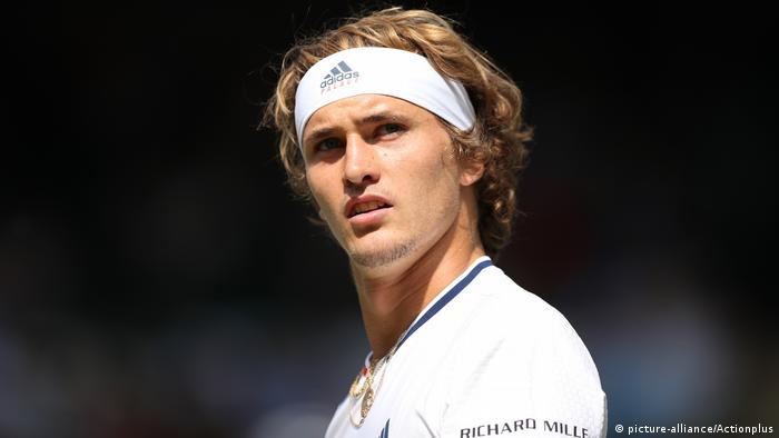 Wimbledon 2018 | Alexander Zverev, Deutschland (picture-alliance/Actionplus)