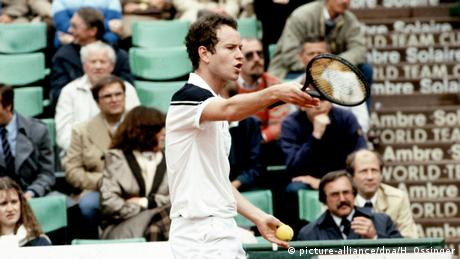 Nations-Cup in Düsseldorf 1984 | John McEnroe, USA (picture-alliance/dpa/H. Ossinger)