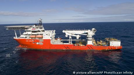 Rettungsschiff Seabed Constructor (picture-alliance/AP Photo/Ocean Infinity)