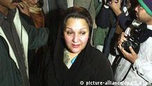 Kulsoom Nawaz (picture-alliance/dpa/S. Khan)