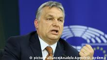 Brüssel EU-Parlament   Viktor Orban, Premierminister Ungarn