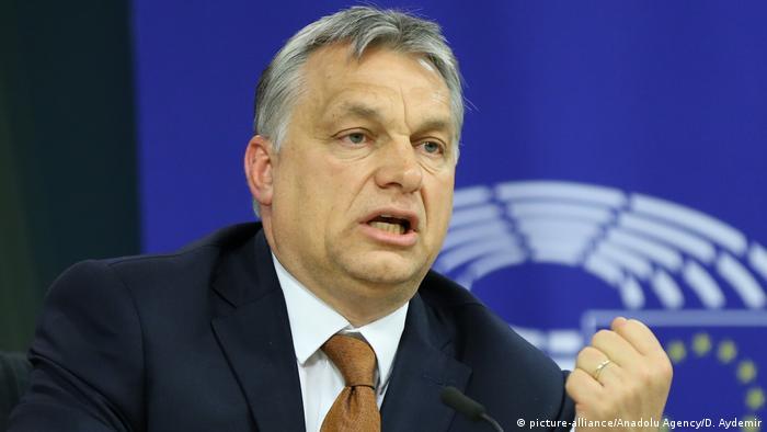Hungarian Prime Minister Viktor Orban (picture-alliance/Anadolu Agency/D. Aydemir)