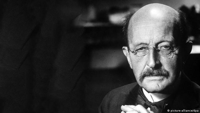 O físico Max Planck