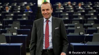 Frankreich, Straßburg: Manfred Weber im EU-Parlament (Reuters/V. Kessler)