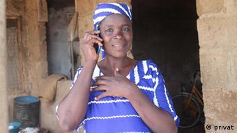 Andaratu Imoro, a retailer from Savelugu near Tamale.   Andaratu Imoro