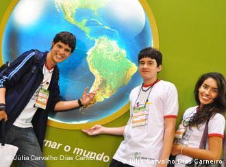 Estudantes brasileiros do projeto Pasch