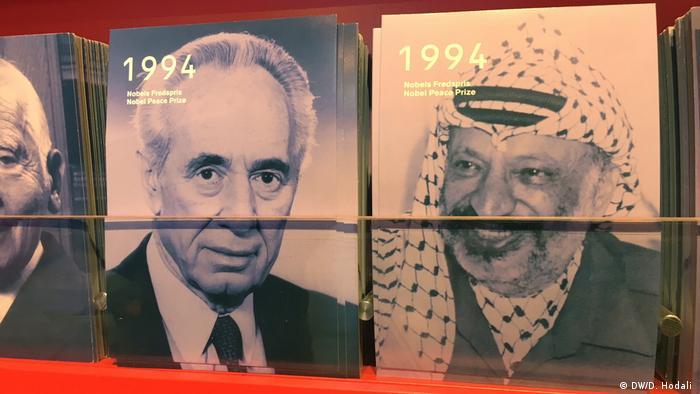 Rabin i Arafat na razglednicama iz 1994.