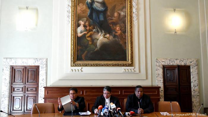 Vatikanstaat PK Bischöfe aus Venezuela | Jose Trinidad Fernandez & Jose Luis Azuaje Ayala