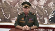 Screenshot: Youtube - Leiter der russischen Gardisten Wiktor Solotow hat den Oppositionellen Alexei Navalny zum Duell herausgefordert