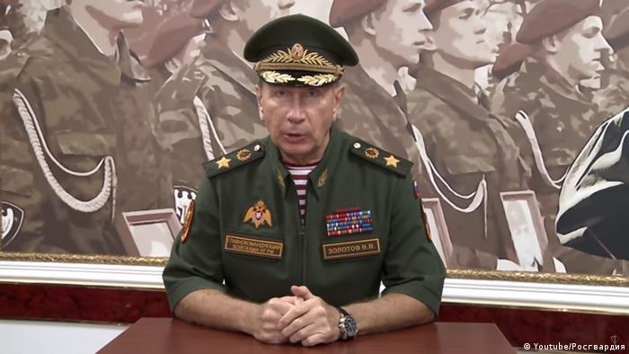 Обращение Золотова к Навальному. Скриншот с YouTube