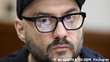 MOSCOW, RUSSIA – SEPTEMBER 11, 2018: Stage and film director Kirill Serebrennikov at a hearing into his case at the Moscow City Court. On August 22, 2017, Serebrennikov was detained on fraud charges; he is accused of embezzling 68 million roubles ($1.1 million) of state funding allocated for the Platforma theatre project between 2011 and 2014. Mikhail Pochuyev/TASS PUBLICATIONxINxGERxAUTxONLY TS0900EB