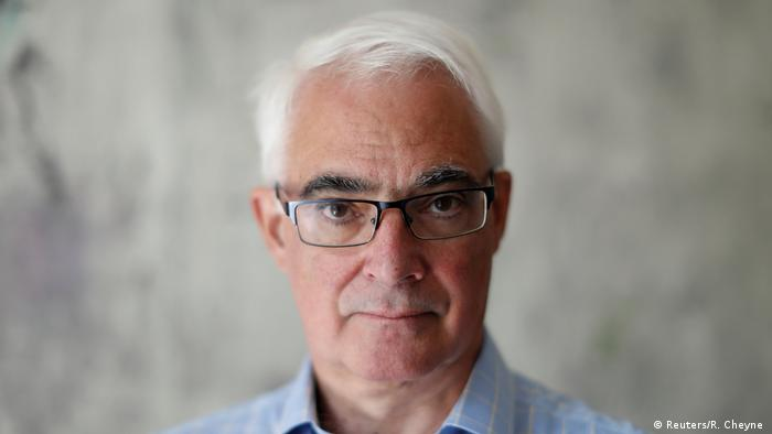 Former UK finance minister, Alistair Darling
