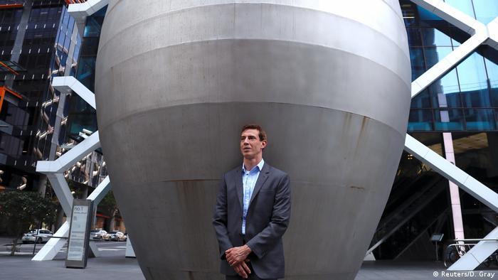 Former Lehman employee Gwion Moore