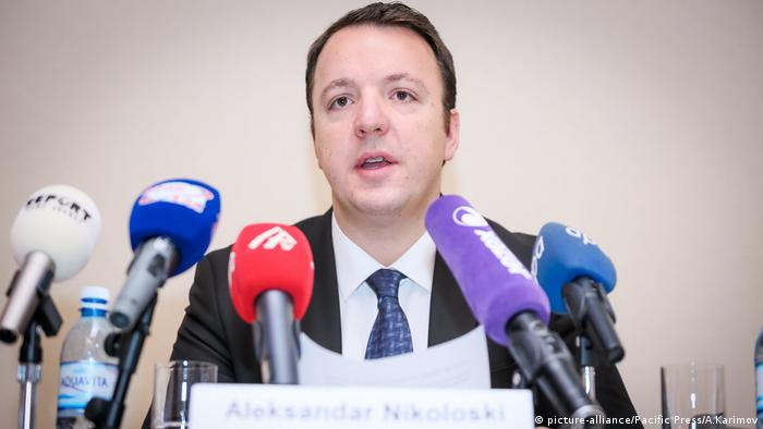 Aserbaidschan 2016 Aleksandar Nikoloski - PACE