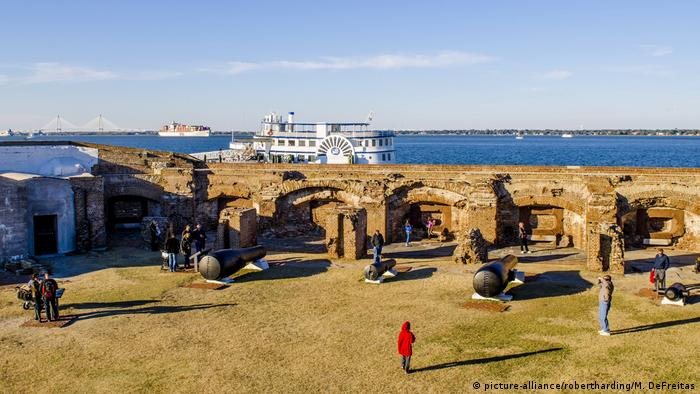 USA South Carolina - Historic Fort Sumter National Monument (picture-alliance/robertharding/M. DeFreitas)