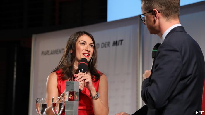 Preisverleihung der Mittelstands- und Wirtschaftsvereinigung der CDU/CSU (MIT) - Emitis Pohl