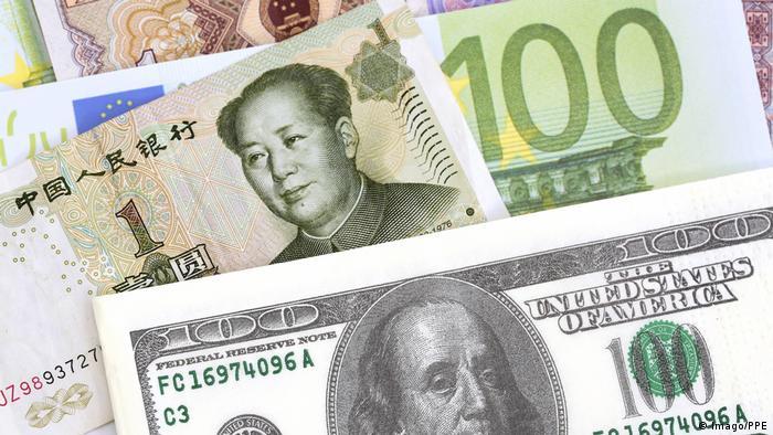 Währungen USA China & Euro