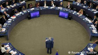 Ήταν η τελευταία του ομιλία στο Ευρωπαϊκό Κοινοβούλιο ως προέδρου της Κομισιόν