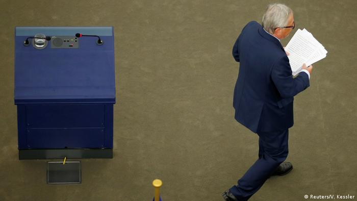 Europäisches Parlament in Straßburg | Rede zur Lage der EU von Jean-Claude Juncker