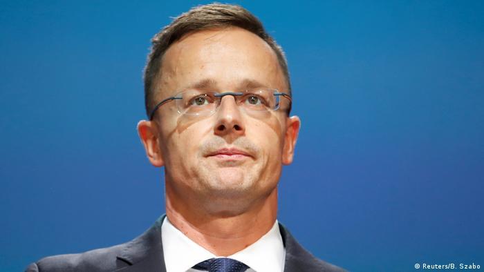 Ungarn, Budapest: Außenminister Peter Szijjarto
