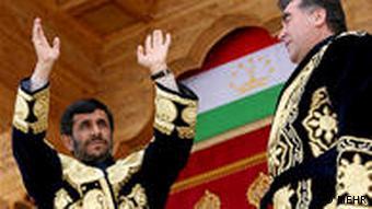 احمدینژاد در بین کشورهای آسیایمیانه بیشترین سفر را به تاجیکستان کرده است