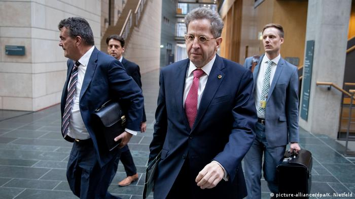 BfV President Hans-Georg Maaßen in Berlin (picture-alliance/dpa/K. Nietfeld)