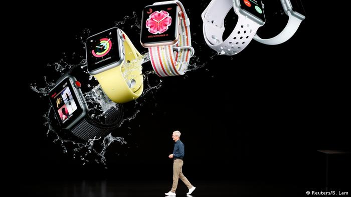 USA Cupertino Tim Cook auf der Apple Produktpräsentation Apple Watch
