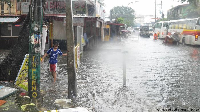 Philippinen Taifun Mangkhut (Imago/Pacific Press Agency)