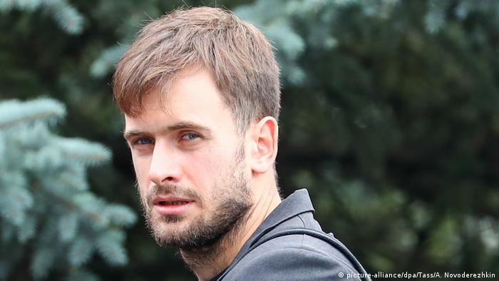 O ativista russo-canadense Pyotr Verzilov