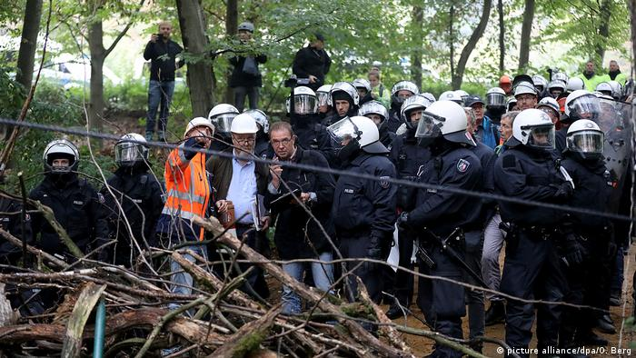 Hambacher Forst (picture alliance/dpa/O. Berg)